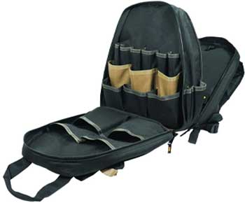 CLC-Custom-Leathertcraft-1134-Carpenter's-Tool-Backpack,-44-Pockets,-Padded-Back-Support