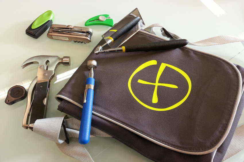 How to set up a tool bag and Tool bag organizing tips